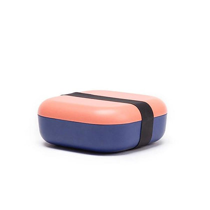 Bamboo Duo Snack Box - Coral