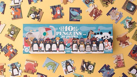 10 Penguins Puzzle