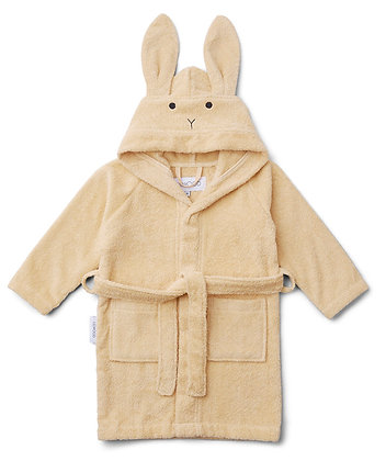 Lily Bathrobe - Rabbit Smoothie Yellow