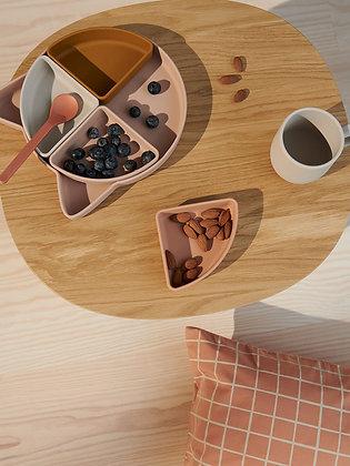 Arne Divider Plate - Cat Rose Mix
