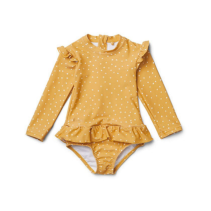 Sille Swim Jumpsuit - Confetti Yellow