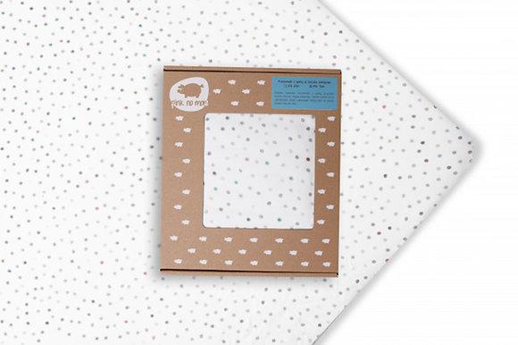 Cot Sheet - Dots