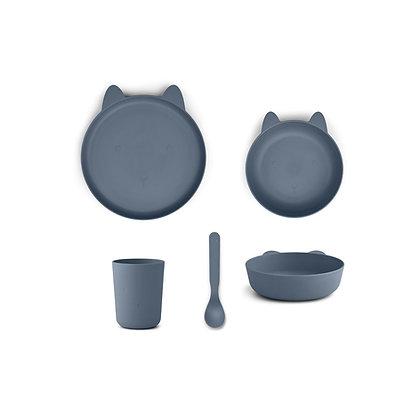 Paul Tableware Set - Rabbit Blue