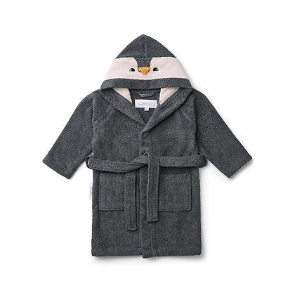Lily Bathrobe - Penguin Grey