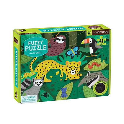 Rainforest Fuzzy Puzzle
