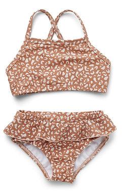 Norma Bikini Set - Mini Leo Tuscany Rose