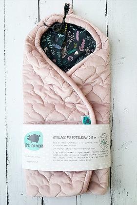 Car Seat Wrap - Pink & Botanic