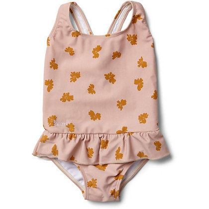 Amara Swimsuit - Sprout Rose
