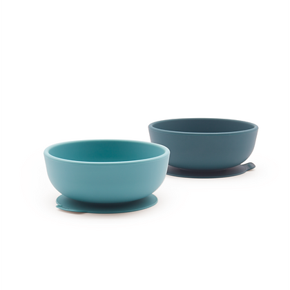 Suction Bowl Set - Blue Abyss/Lagoon