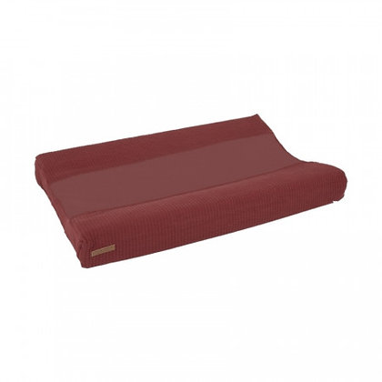 Changing Mat Cover Pure Indian Red