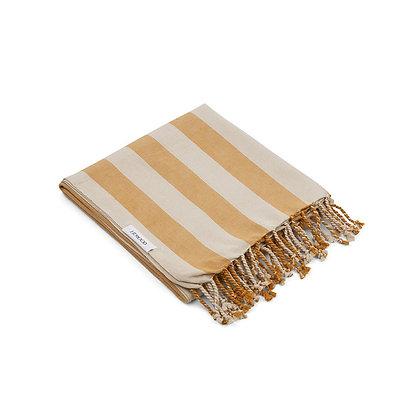 Mona Beach Towel - Mustard