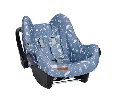 Car seat 0+ cover - Ocean Blue