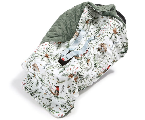 Car Seat Blanket - Forest