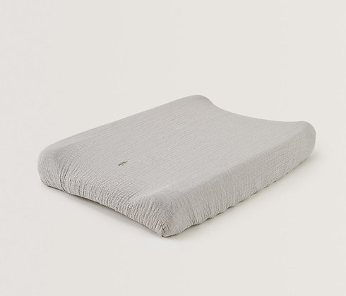 Thyme Muslin Changing Mat Cover