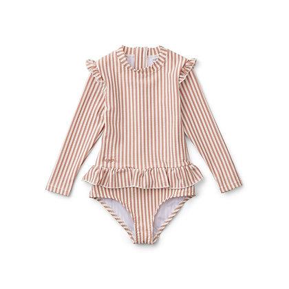 Sille Swim Jumpsuit - Coral