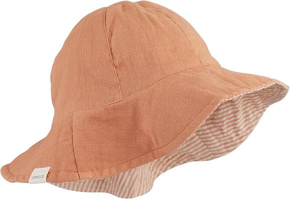 Cady Sun Hat - Tuscany Rose