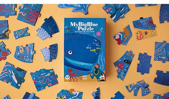 My Big Blue Puzzle