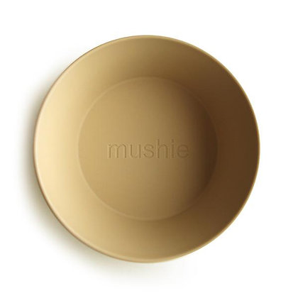 Round Bowls Set of 2 - Mustard