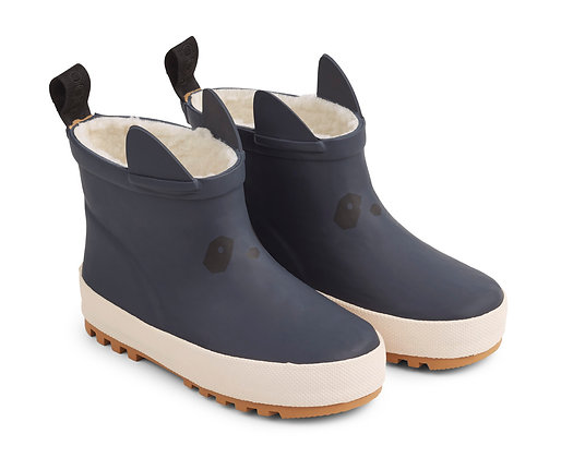 Jesse Thermo Rain Boots - Navy