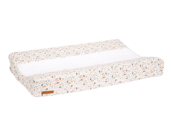 Changing Mat Cover Ocean White