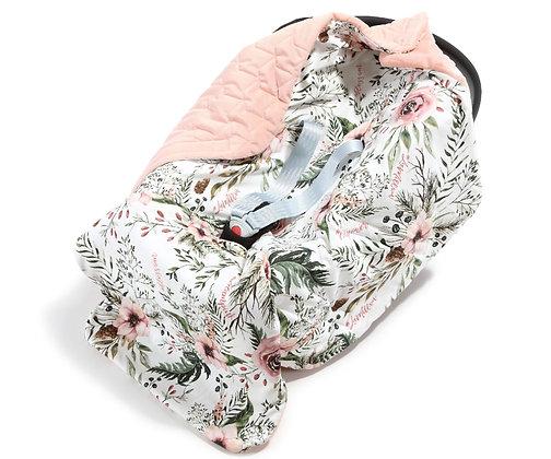 Car Seat Blanket - Wild Blossom