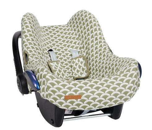 Car seat 0+ cover - Sunrise Olive