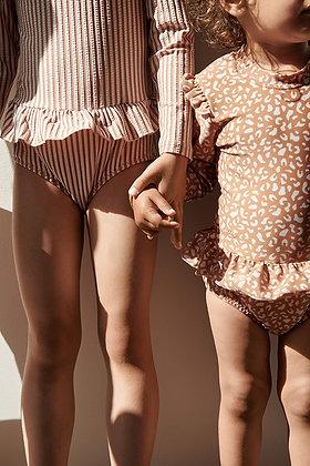 Sille Swim Jumpsuit - Mini Leo Tuscany