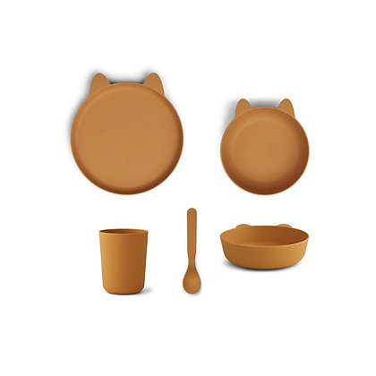 Paul Tableware Set - Rabbit Mustard