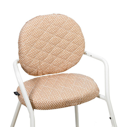 TIBU High Chair - Diamond Toast Cushions