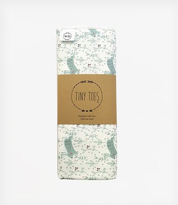 Hare Mint Changing Mat Cover