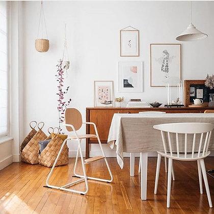 TIBU High Chair - White