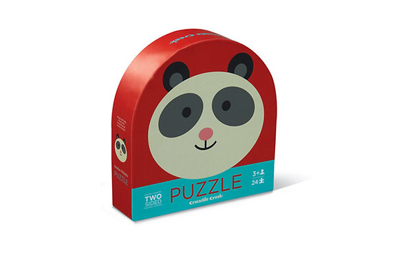 Panda Friends Two-Sided Puzzle