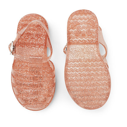 Bre Sandals - Glitter Peach