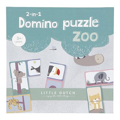 Domino Puzzle Zoo