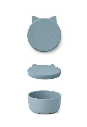 Cornelius Snack Box - Cat Sea Blue