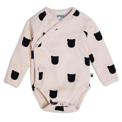 Blush Bear Kimono Bodysuit