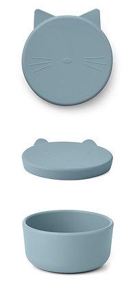 Cornelius Snack Box - Cat Dove Blue
