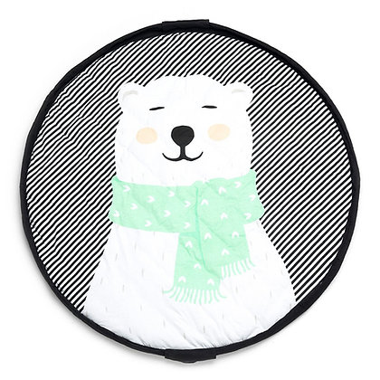 Polar Bear Baby Playmat - Bag