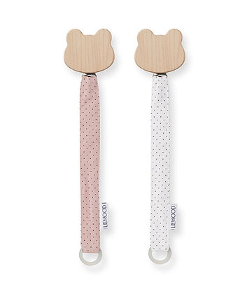 Sia Pacifier Strap 2 Pack - Little Dot