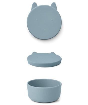 Charlot Snack Box - Rabbit Sea Blue