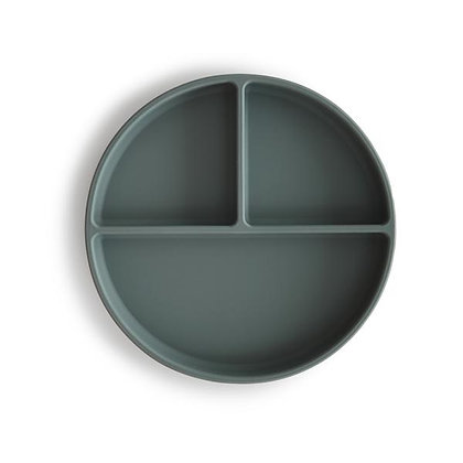 Silicone Suction Plate - Thyme
