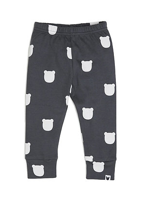 Charcoal Bear Leggings
