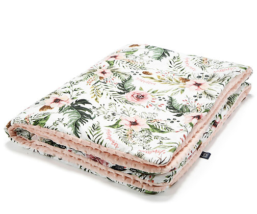 Wild Blossom Winter Blanket