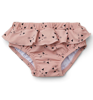Elise Baby Girl Swim Pants - Cat Rose