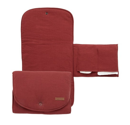 Changing Pad Comfort Pure Indian Red