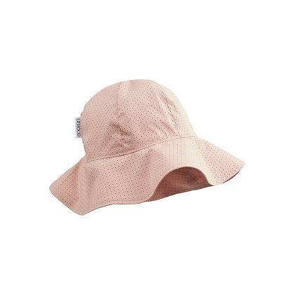 Amelia Sun Hat - Little Dot Rose
