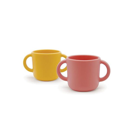 Training Cup Set - Mimosa/Coral
