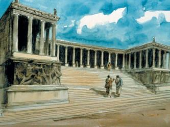 3. Pergamos, the compromising church:  Revelation 2:12-17