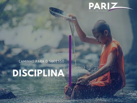 Disciplina: seu caminho para o sucesso