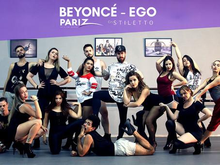 Como Dançar no Salto - Beyoncé - Ego